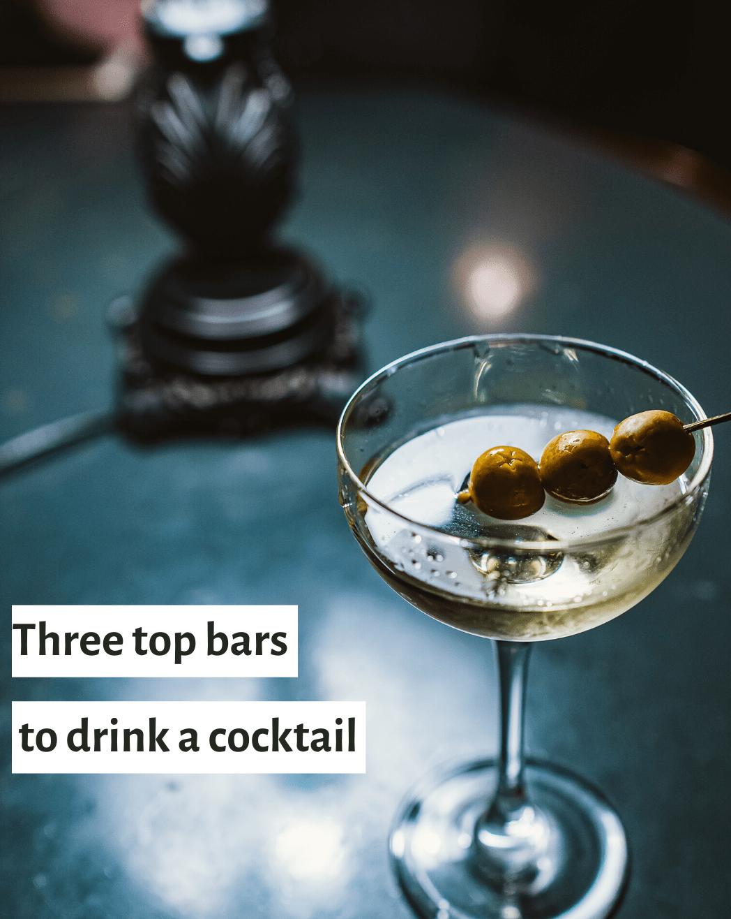 three top bars